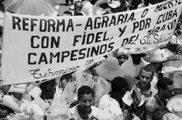 cuba, fidel castro, ley de reforma agraria, dia del campesino