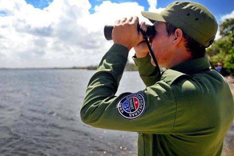 Las Tropas Guardafronteras mantienen el enfrentamiento al tráfico de drogas aun en medio de  la pandemia de COVID-19. (Foto: PL)