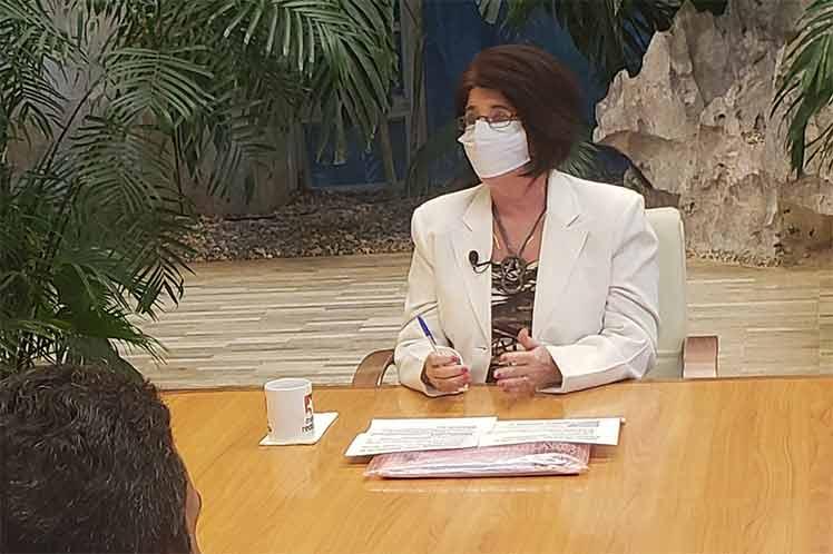 La ministra subrayó que quienes forman parte del sector privado tampoco están desprotegidos. (Foto: Twitter @PresidenciaCuba)