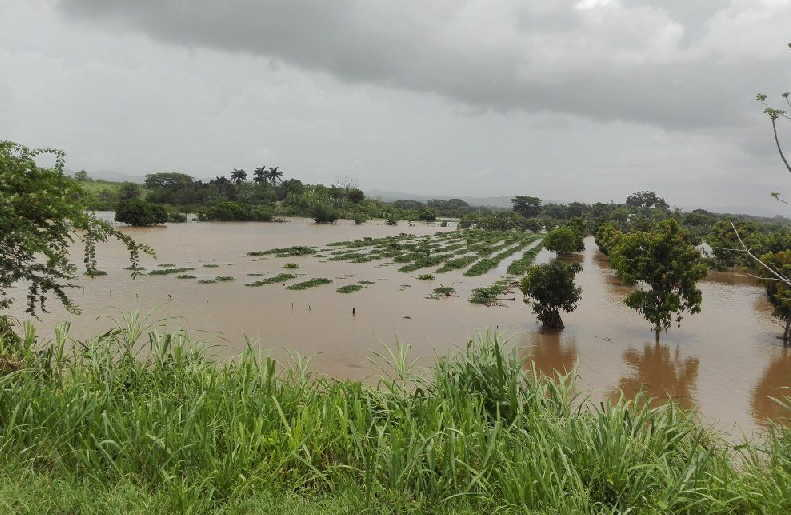 trinidad, lluvias, lluvias en sancti spiritus, meteorologia, san pedro, comunidad alberto delgado