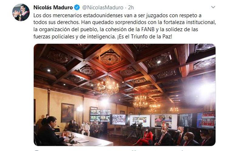 El anuncio fue confirmado por el presidente Nicolás Maduro a través de su cuenta en Twitter. (Foto: PL)