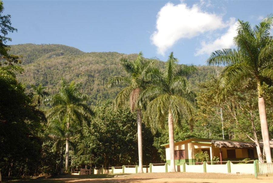 La reserva ecológica Lomas de Banao despunta por el uso público de sus opciones. (Foto: Vicente Brito/ Escambray)