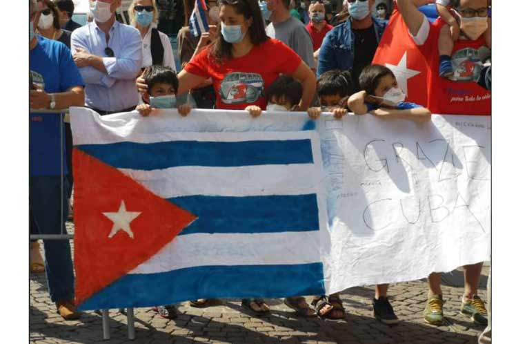 Los colaboradores cubanos de la salud dejan una huella  imborrable de altruismo y solidaridad. (Foto: PL)
