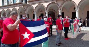 Cuba, Italia, Colaboración, COVID-19