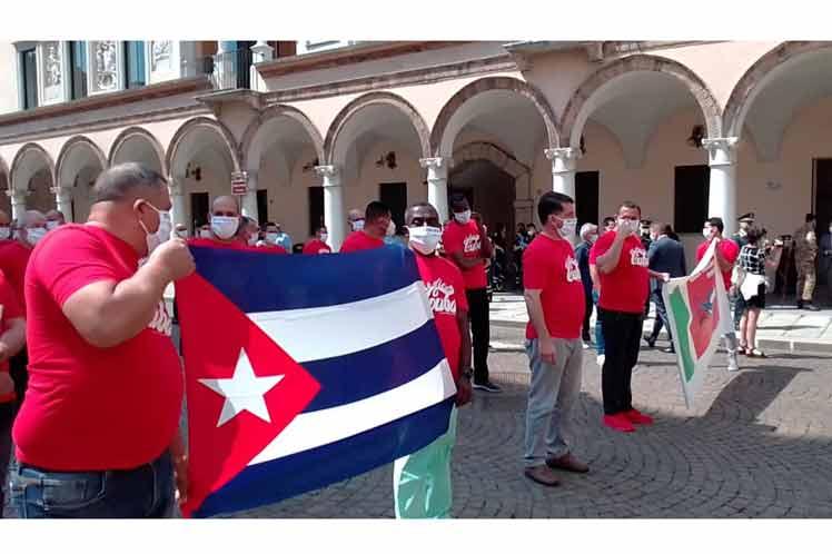 En Crema, profesionales de la salud italianos y cubanos demostraron el  valor de la colaboración. (Foto: PL)