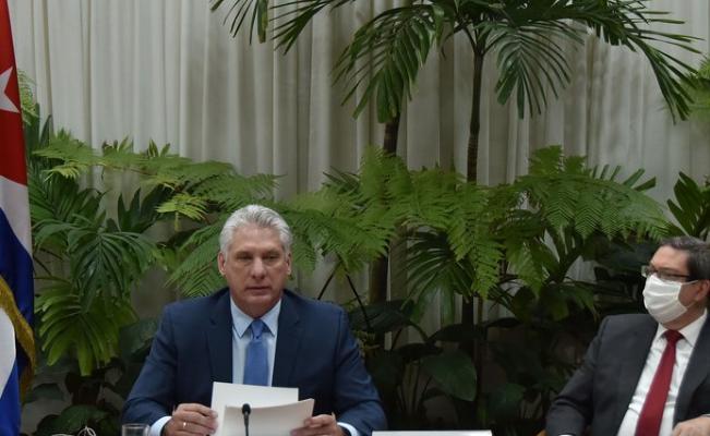 cuba, azerbaiyan, miguel diaz-canel, presidente de la republica de cuba,mnoal, coronavirus, covid-19, pandemia mundial