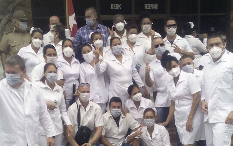 sancti spiritus, coronavirus, covid-19, salud publica, villa clara, hospital comandante piti fajardo