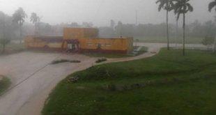 cabaiguan, meteorologia, granizos, lluvias