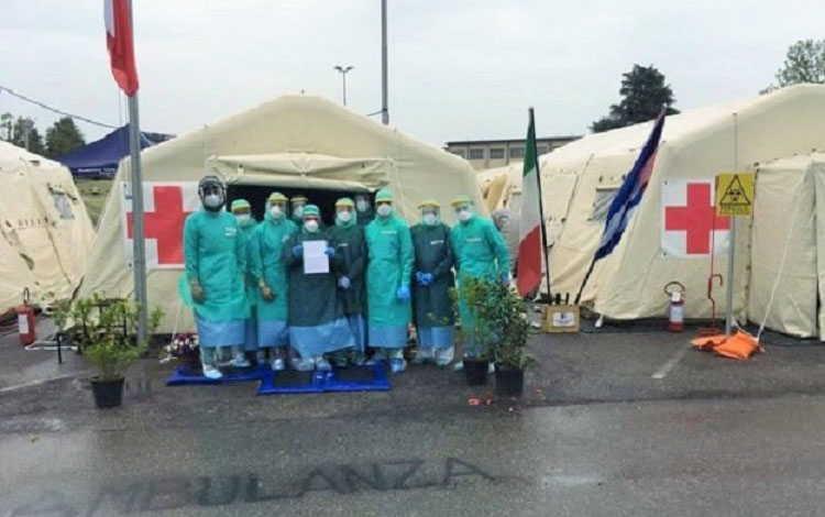 cuba, solidaridad, covid-19, coronavirus, salud publica, contingente internacional henry reevy