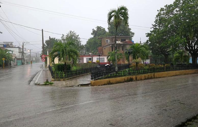 sancti spiritus, intensas lluvias, lluvias en sancti spiritus, meteorologia