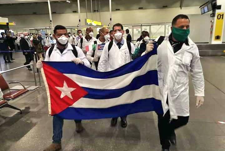 cuba, medicos cubanos, contingente henry reeve, solidaridad, covid-19, coronavirus, pandemia mundial