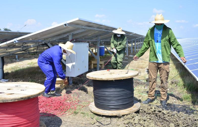 yaguajay, mayajigua, parque solar fotovoltaico, psfv, fuentes renovables de energia, empresa electrica