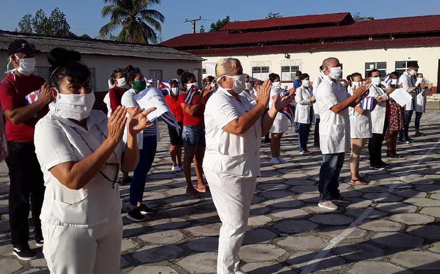 sancti spiritus, perimero de mayo, coronavirus, dia internacional de los trabajadores, covid-19, primero de mayo en sancti spiritus