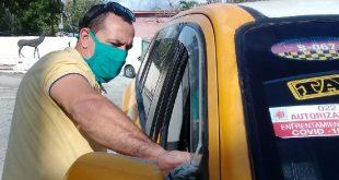 sancti spiritus, covid-19, salud publica, taxi cuba, agencia de taxis