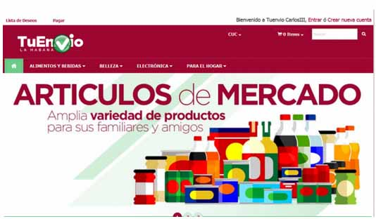 CORONAVIRUS, Comercio Electrónico, CIMEX, TRD