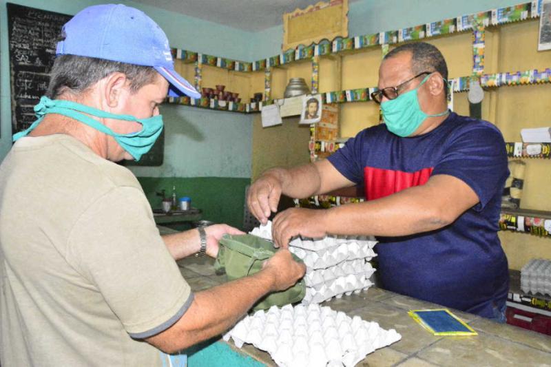 sancti spiritus, comercio, bodegas, canasta basica, grupo empresarial de comercio, covid-19, coronavirus