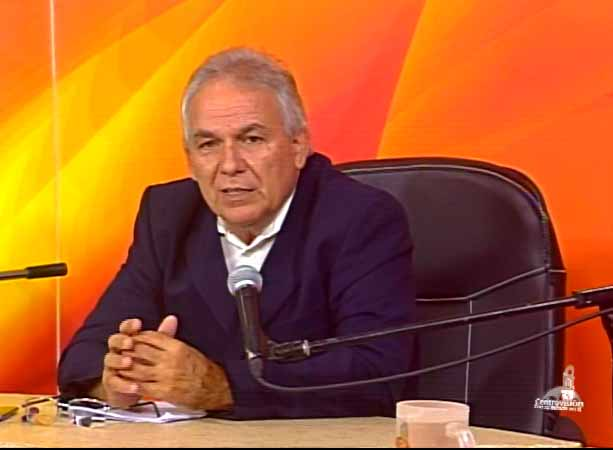 Luis Rolando González Sánchez, director de la División Sancti Spíritus de Etecsa. (Foto: Tomada de Centrovisión)