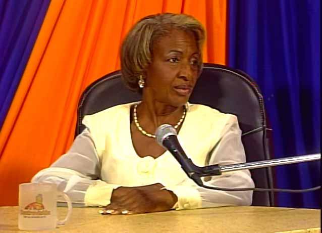 Angela Fleita Duquesne, directora Municipal de Cultura. (Foto: Tomada de Centrovisión)