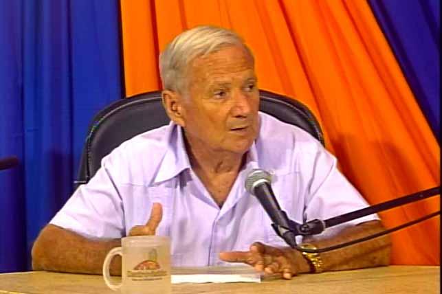 Roberto Vitlloch Fernández, director de la Oficina del Conservador de la Ciudad. (Foto: Tomada de Centrovisión)