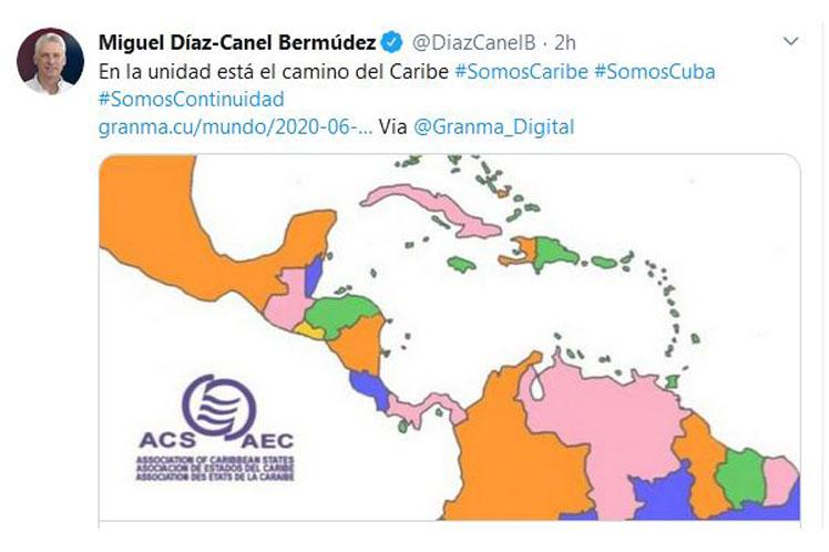 La postura del presidente cubano se corresponde con la línea integradora mantenida por Cuba en la región caribeña.