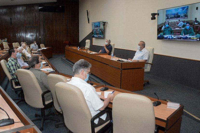 El ministro de Salud Pública, José Angel Portal, notificó el cierre del evento de transmisión local de la enfermedad en Turiguanó. (Foto: Estudios Revolución)