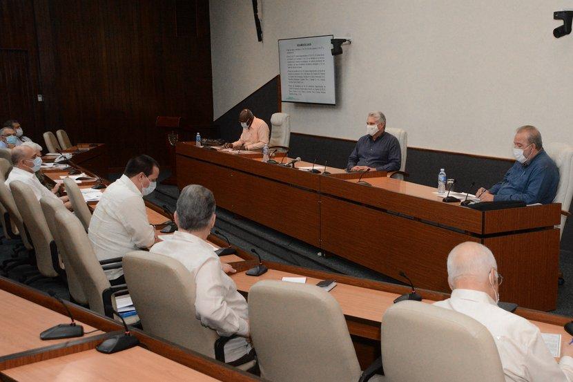 En el encuentro de este miércoles se informó que la cifra de recuperados llega a 2 130, el 92% del total de enfermos. (Foto: Estudios Revolución)