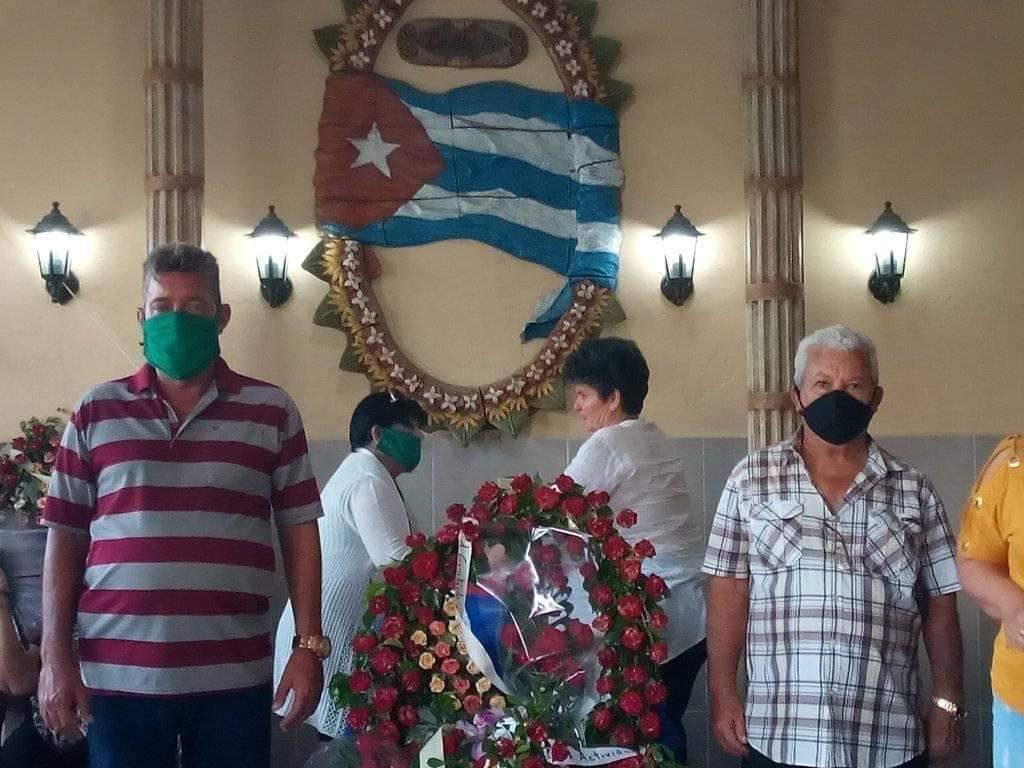 La Feria Agropecuaria Delio Luna Echemendía de la que fue inseparable, no faltó en su homenaje. (Foto: Laura Brito Alsina)