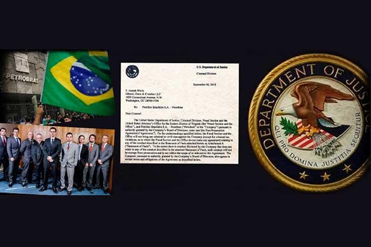 La defensa del expresidente argumenta que existe una 'estrecha relación entre las autoridades judiciales de EE.UU. y Brasil'. (Foto: PL)