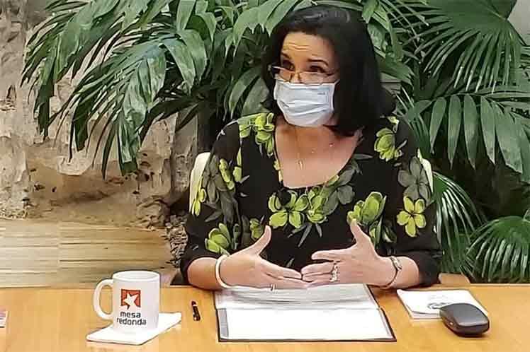 Yamila Peña Ojeda, fiscal general de la República. (Foto: Presidencia Cuba)