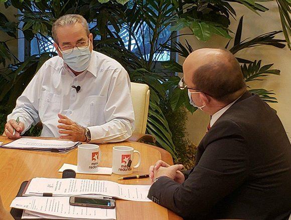 José Ramón Saborido Loidi, ministro de Educación Superior. (Foto: @PresidenciaCuba)