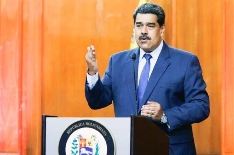 'Ya basta  del colonialismo europeo contra nuestro país', enfatizó el presidente venezolano. (Foto: PL)