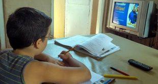 Educación, Curso escolar, Sancti Spíritus, teleclases