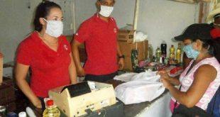 sancti spiritus, cadena de tiendas caribe, trd, aseo personal, covid-19, coronavirus, mincin