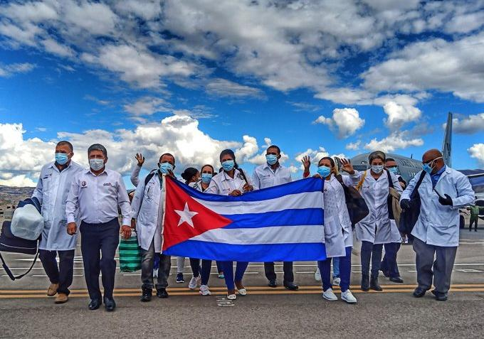 cuba, peru, medicos cubanos, covid-19, coronavirus, salud publica, contingente henry reeve