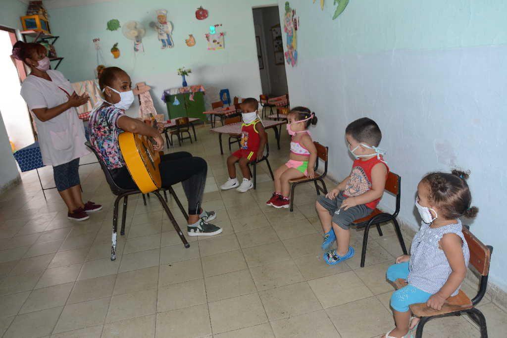 sancti spiritus, covid-19, circulos infantiles, educacion, recupoeracion covid-19