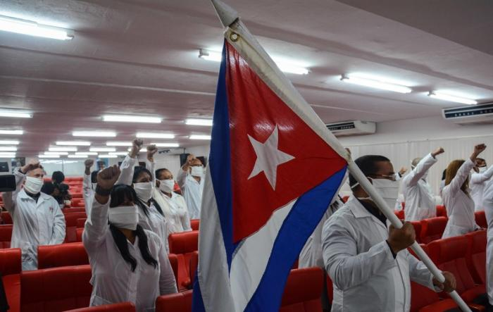 cuba, contingente henry reeve, medicos cubanos, covid-19, coronavirus, guinea conakri