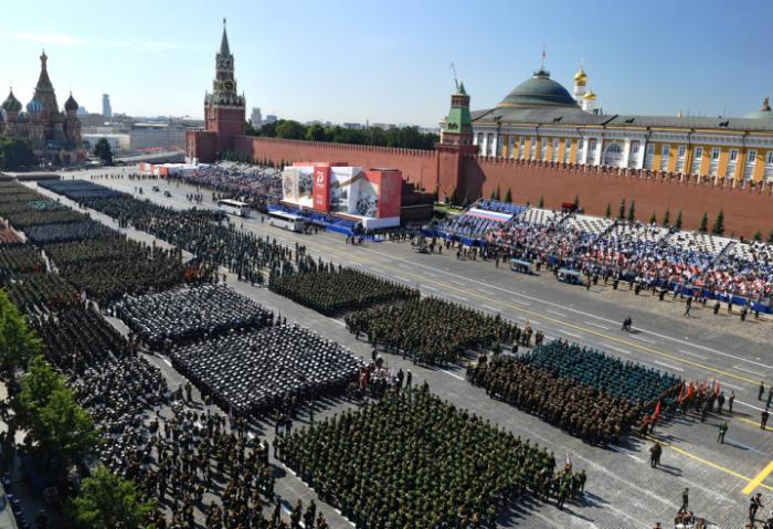 rusia, plaza roja, gran guerra patria, vladimir putin