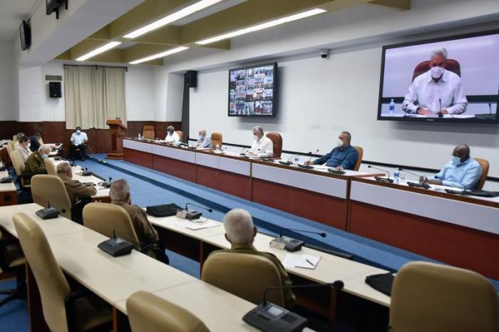 cuba, consejo de ministros, miguel diaz-canel, covid-19, coronavirus, produccion de alimentos