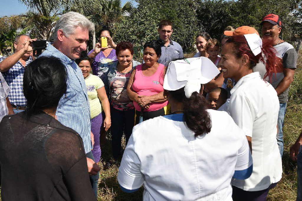 cuba, miguel diaz-canel, limonada,redes sociales, presidente de la republica de cuba, sancti spiritus
