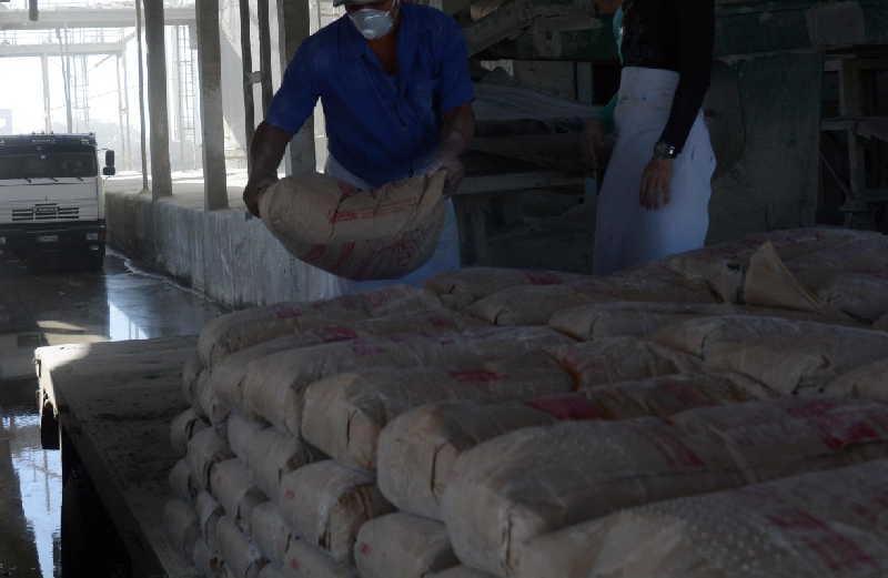 sancti spiritus, fabrica de cemento, empresa de cemento siguaney, construccion de viviendas, economia cubana