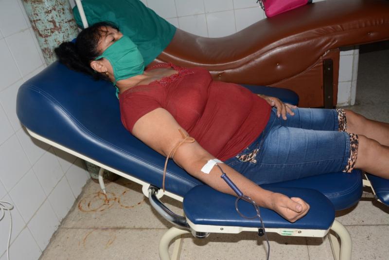 sancti spiritus, donaciones de sangre, covid-19, fmc, vilma espin, federacion de mujeres cubanas