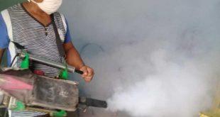 sancti spiritus, fumigacion, aedes aegypti, covid-19, dengue, salud publica
