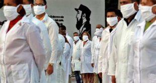 cuba, medicos cubanos, coronavirus, salud publica, contingente henry reeve
