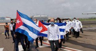 cuba, medicos cubanos, covid-19, martinica, contingente henry reeve