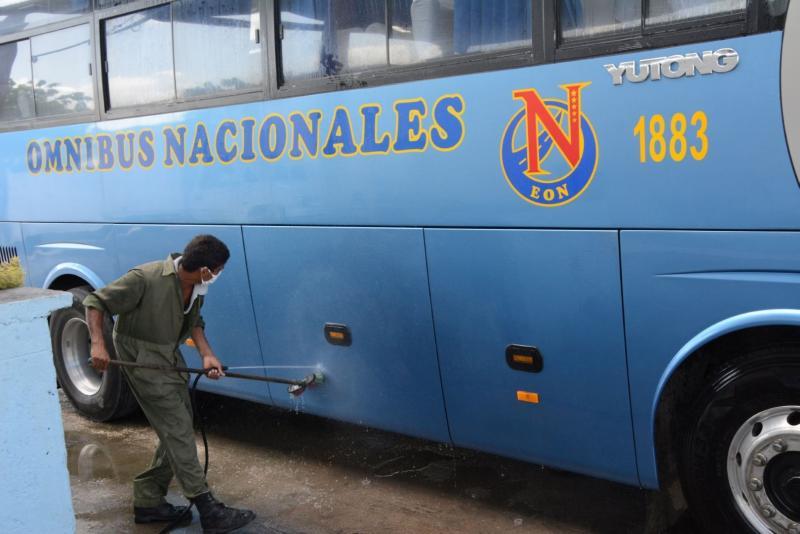 sancti spiritus, coronavirus, covid-19, recuperacion post covid-19, transporte urbano, transporte, omnibus nacionales
