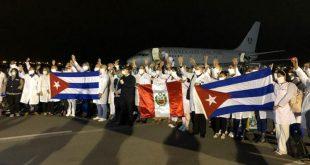 Cuba, Perú, COVID-19, colaboración médica
