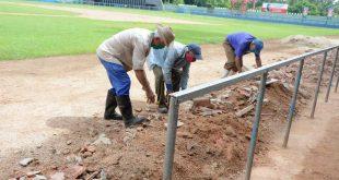 Béisbol, Reparación, Huelga, estadio