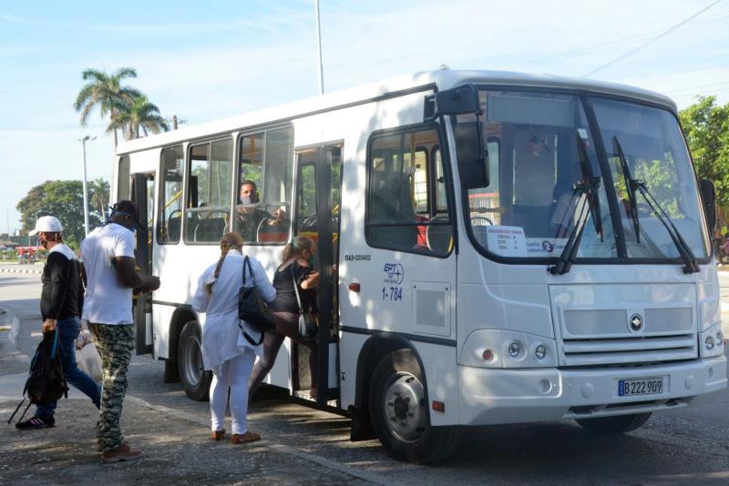 sancti spiritus, transporte urbano, transporte, recuperacion post covid-19, covid-19, coronavirus, salud publica