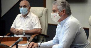 cuba, covid-19, recuperacion post covid-19 en cuba, miguel diaz-canel, coronavirus, salud publica, presidente de la republica de cuba