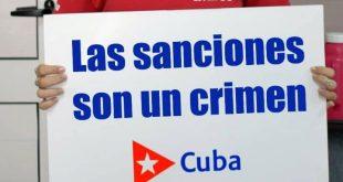 cuba, bloqueo de eeuu a cuba, relaciones cuba-estados unidos, miguel diaz-canel, presidente de la republica de cuba
